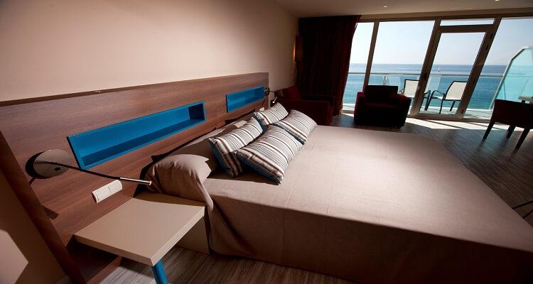 Ein Zimmer des Hotel Allon