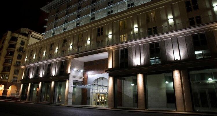 Das HOtel Parque Central von außen