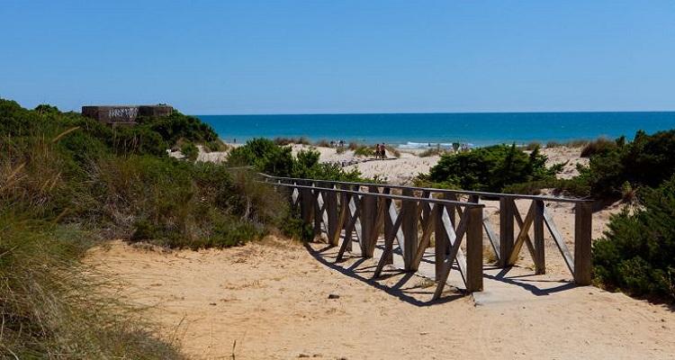 Der Strand ist nur wenige Gehminuten vom Hotel Valentin entfernt