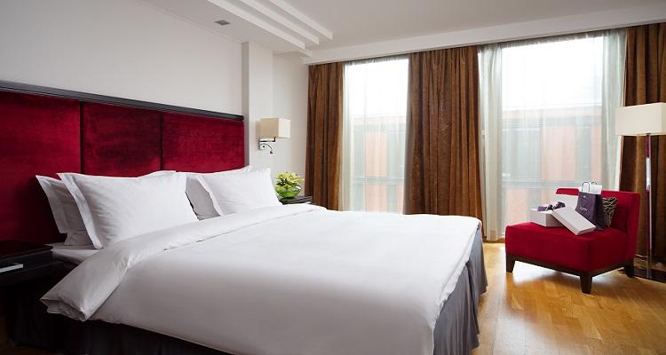 Ein Beispiel des Raddisson Elizabete Hotels für Ihr Singlereisen-Zimmer ins Baltikum