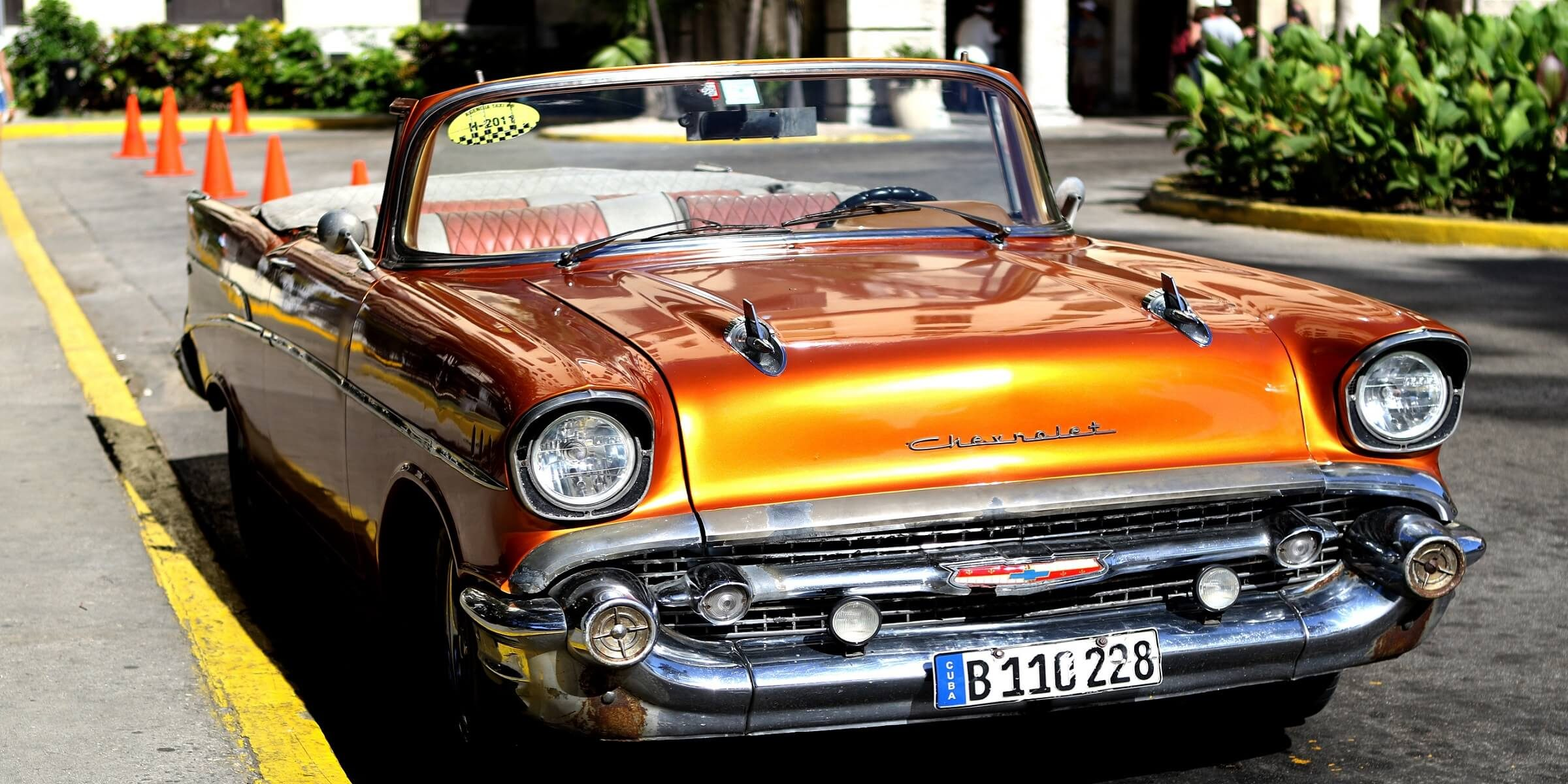 In Kuba werden Sie an jeder Ecke Oldtimer sehen