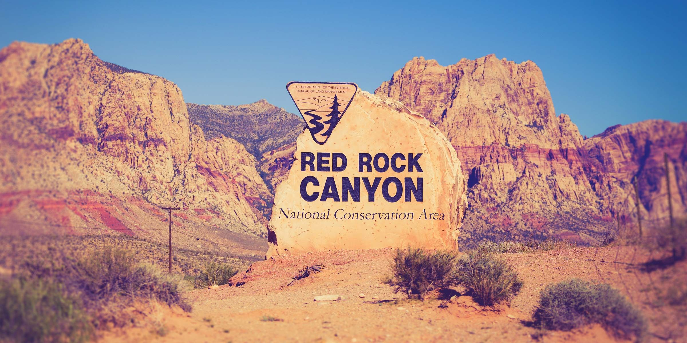 Der Red Rock Canyon in Las Vegas