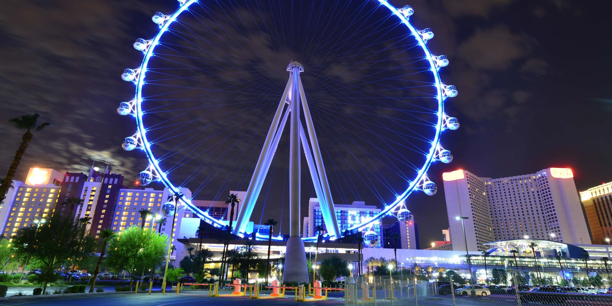 Las Vegas bei Nacht ist eine absolute Attraktion
