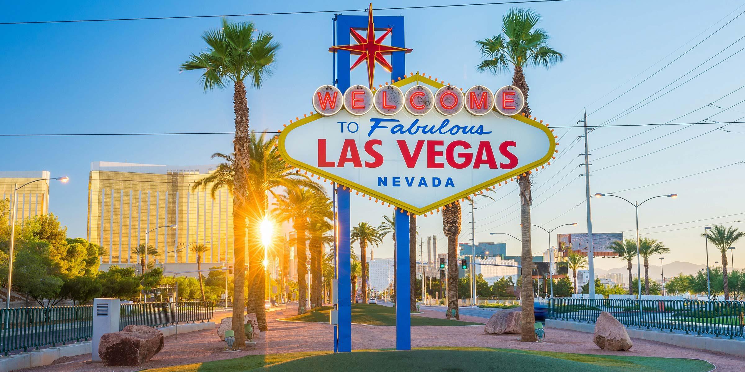 Las Vegas heißt Sie herzlich Willkommen