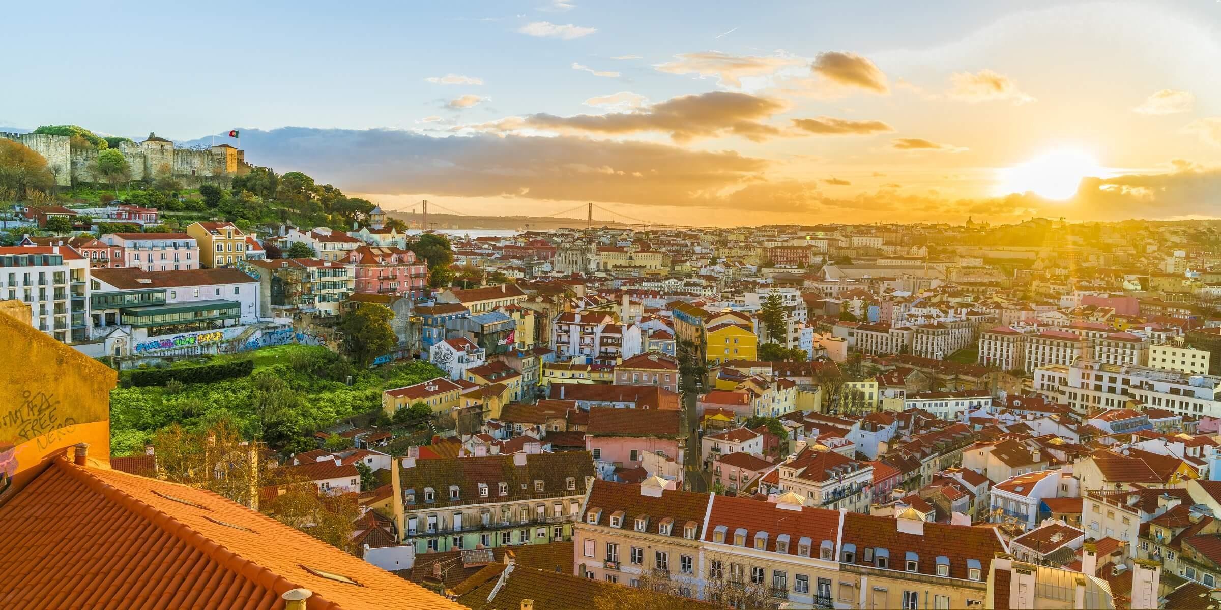 Lissabon ist eine wirklich sehr schöne Stadt