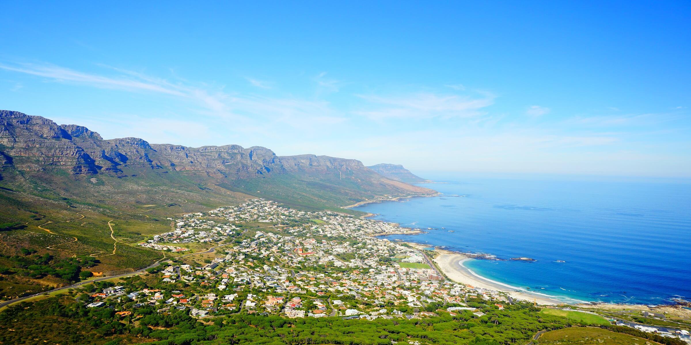 Traumhafte Küstenabschnitte werden Ihnen in Südafrika begegnen
