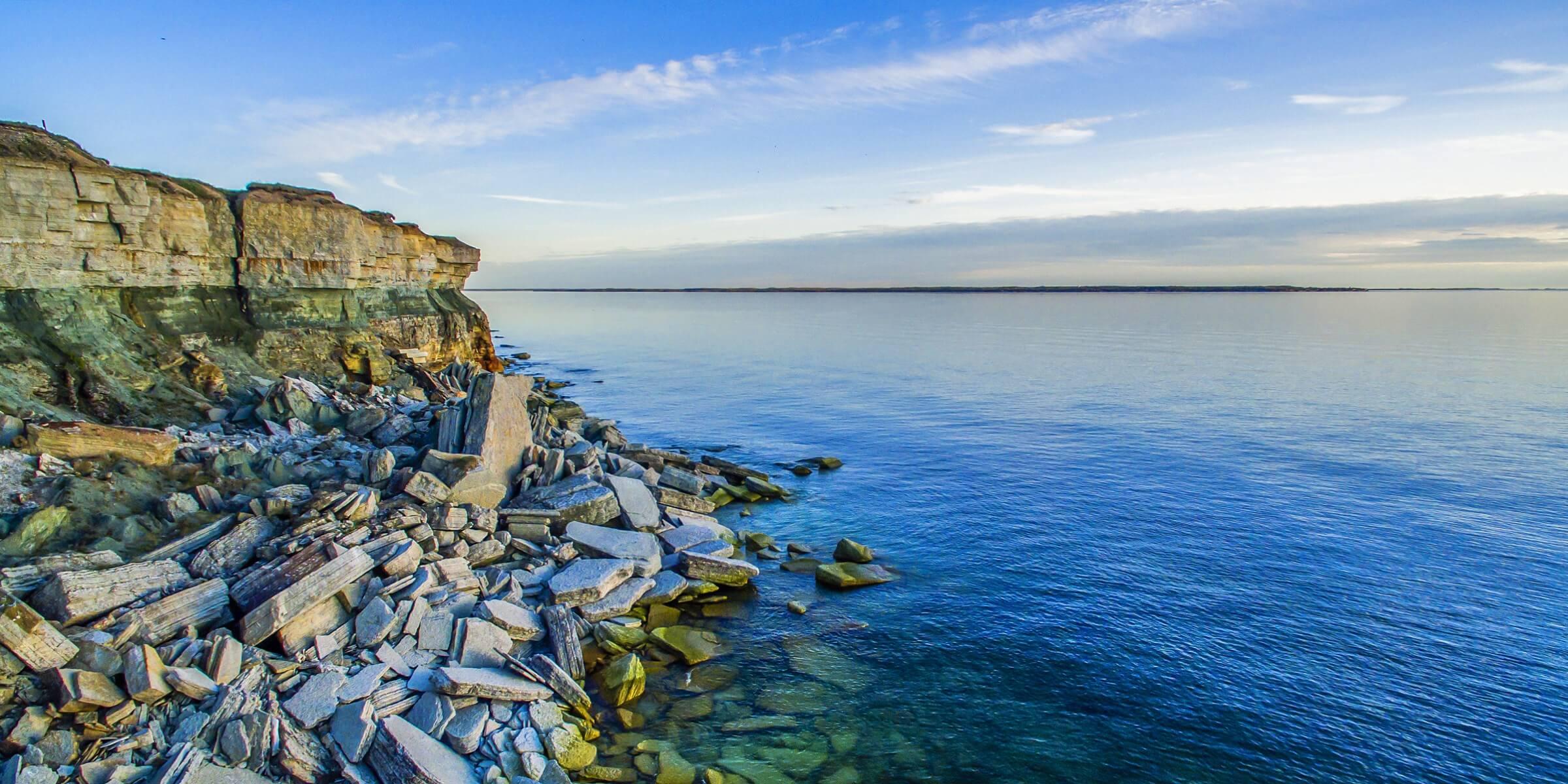 Die Küste von Tallinn