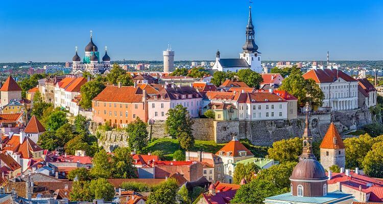 Auf Ihrer Single Reise bummeln Sie durch Tallinn in Estland