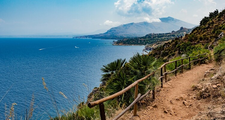 Wunderschönes Naturgebiet Riserva dello Zingano in Sizilien