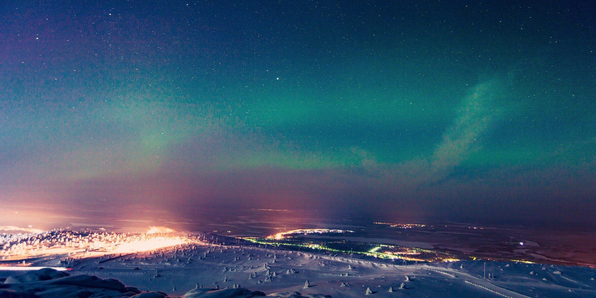 Wer die Polarlichter einmal sehen möchte, sollte unbedingt eine Reise nach Lappland machen