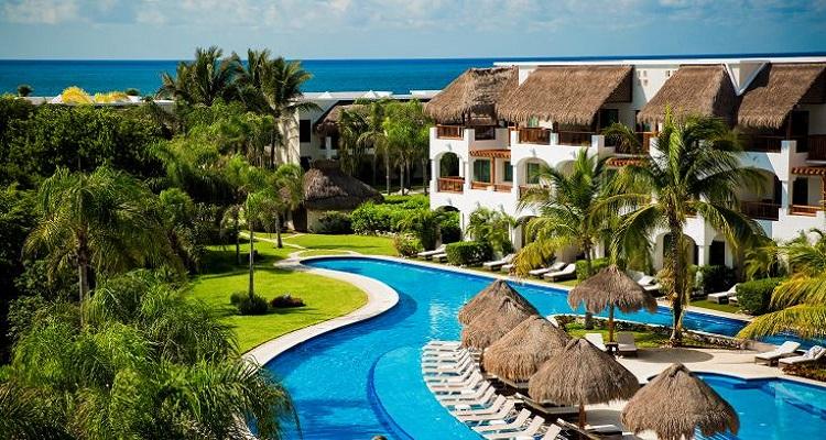 Das Valentin Hotel in Mexiko ist direkt am Strand gebaut worden