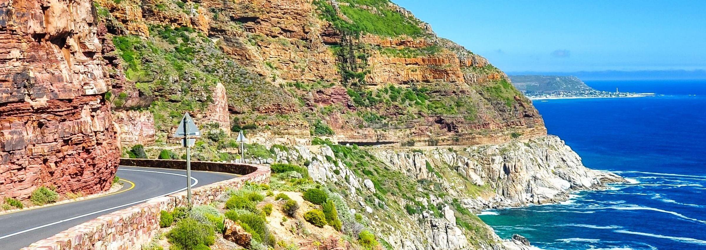 Die Küste von Südafrika