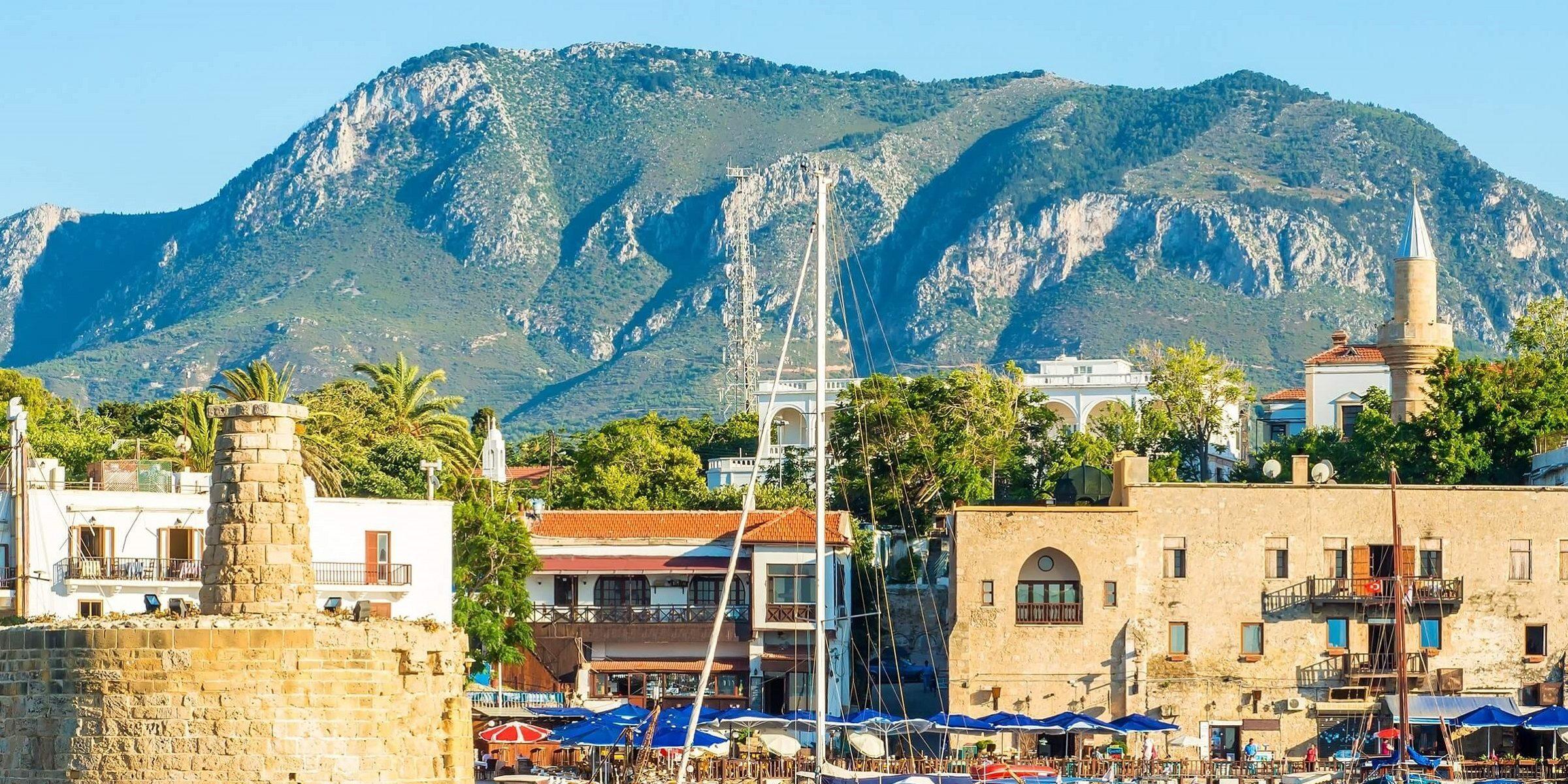 Der nördliche Hafen auf Zypern