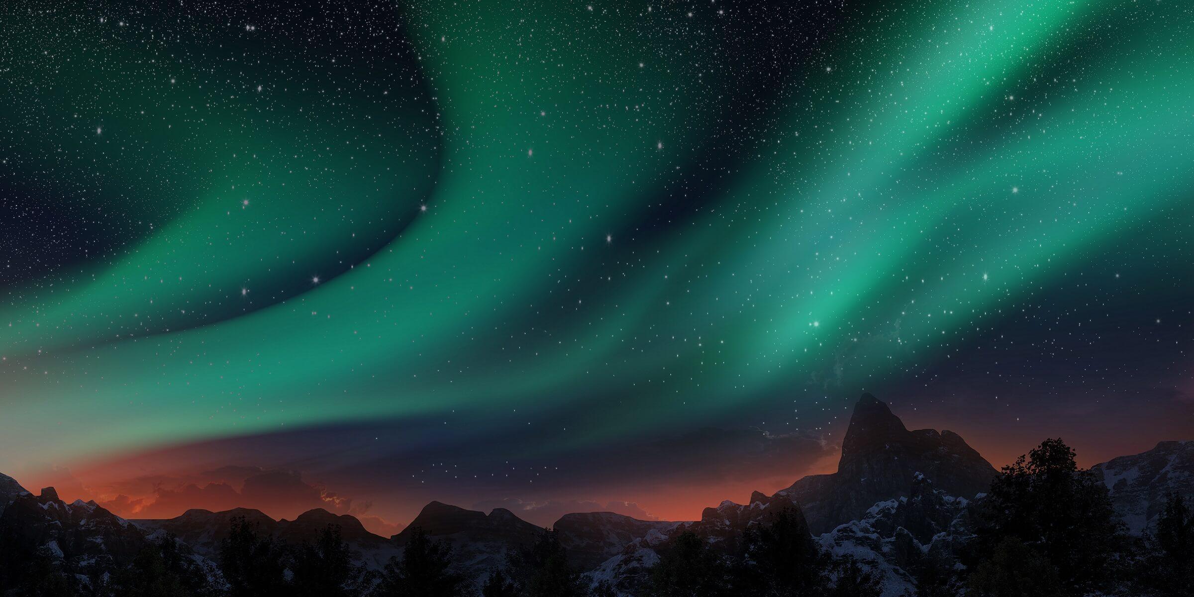 Die Polarlichter in Lappland, ein einzigartiges Erlebnis