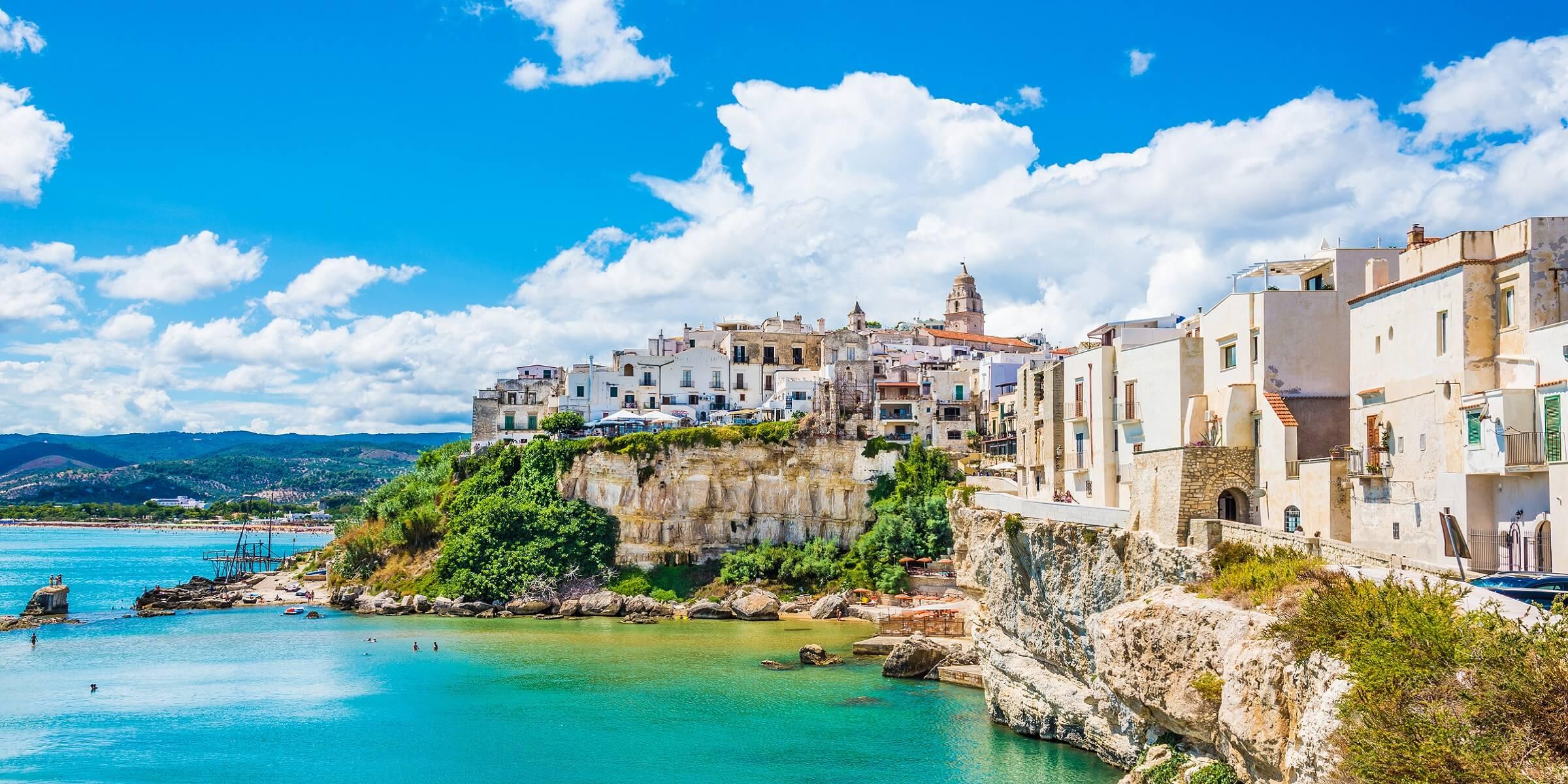 Die Küste Apuliens