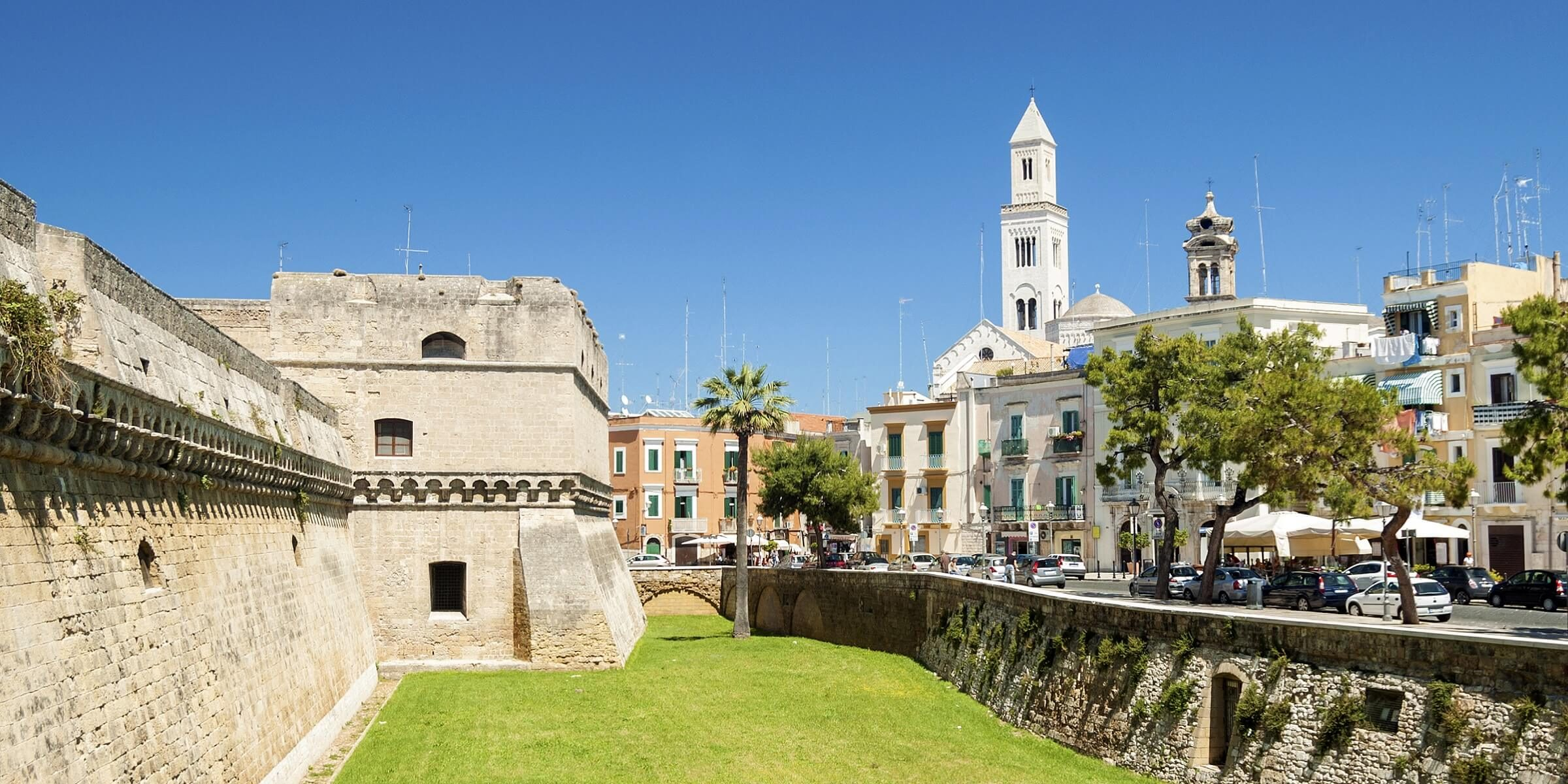 Die Innenstadt von Apulien