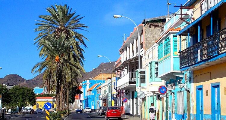 Die Straßen von Santo Antao auf Kapverden