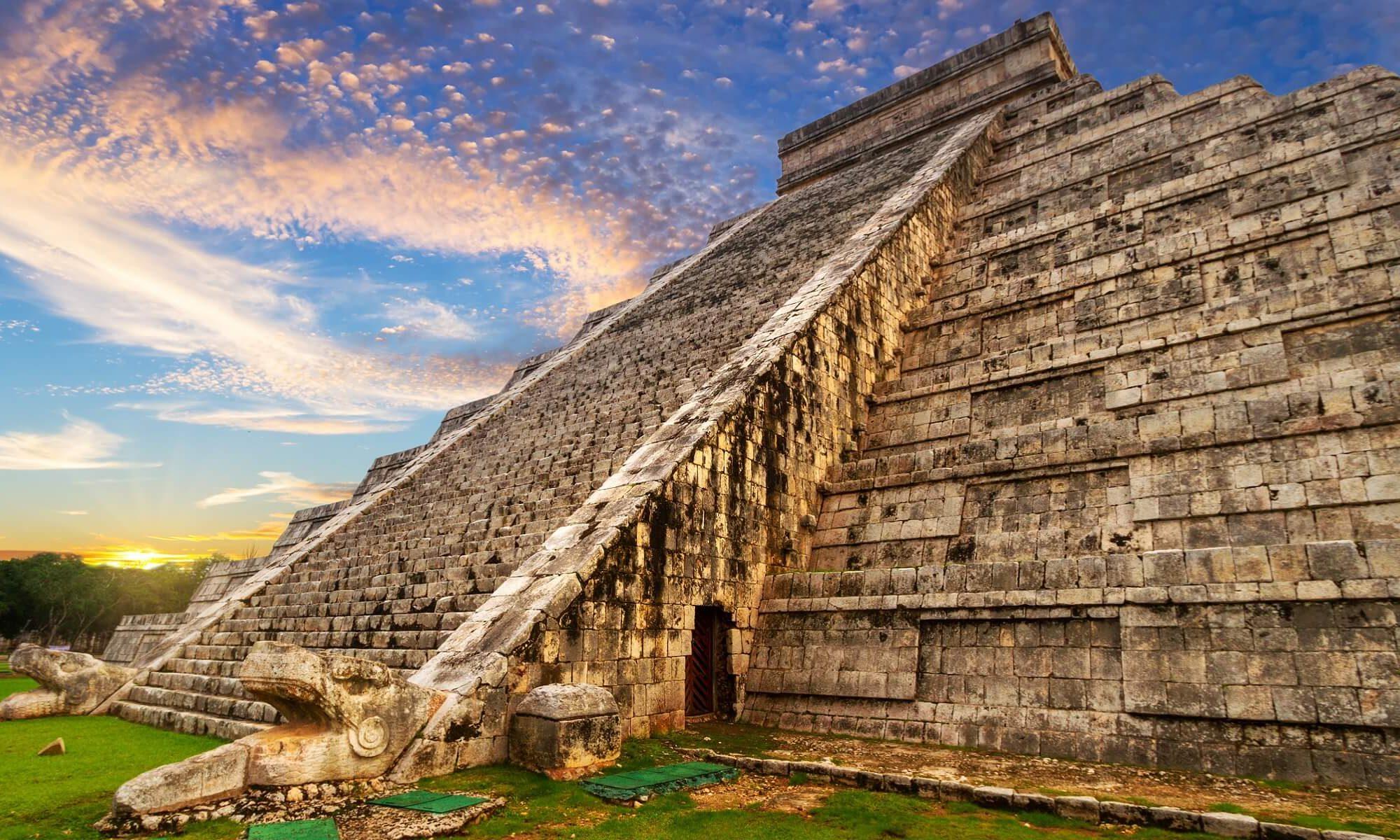 Wir werden auf Ihrer Singlereise nach Mexiko die Gedenkstätten des Maya besichtigen