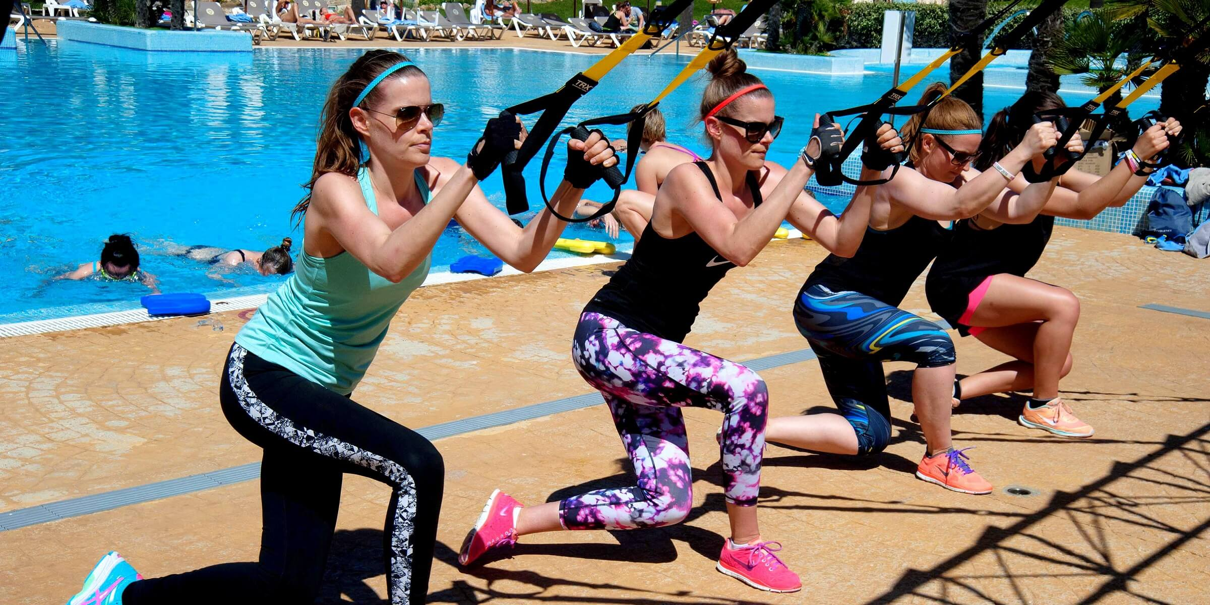 Im Women´s-Health-Camp wird Ihnen die richtige Technik für viele Übungen gezeigt