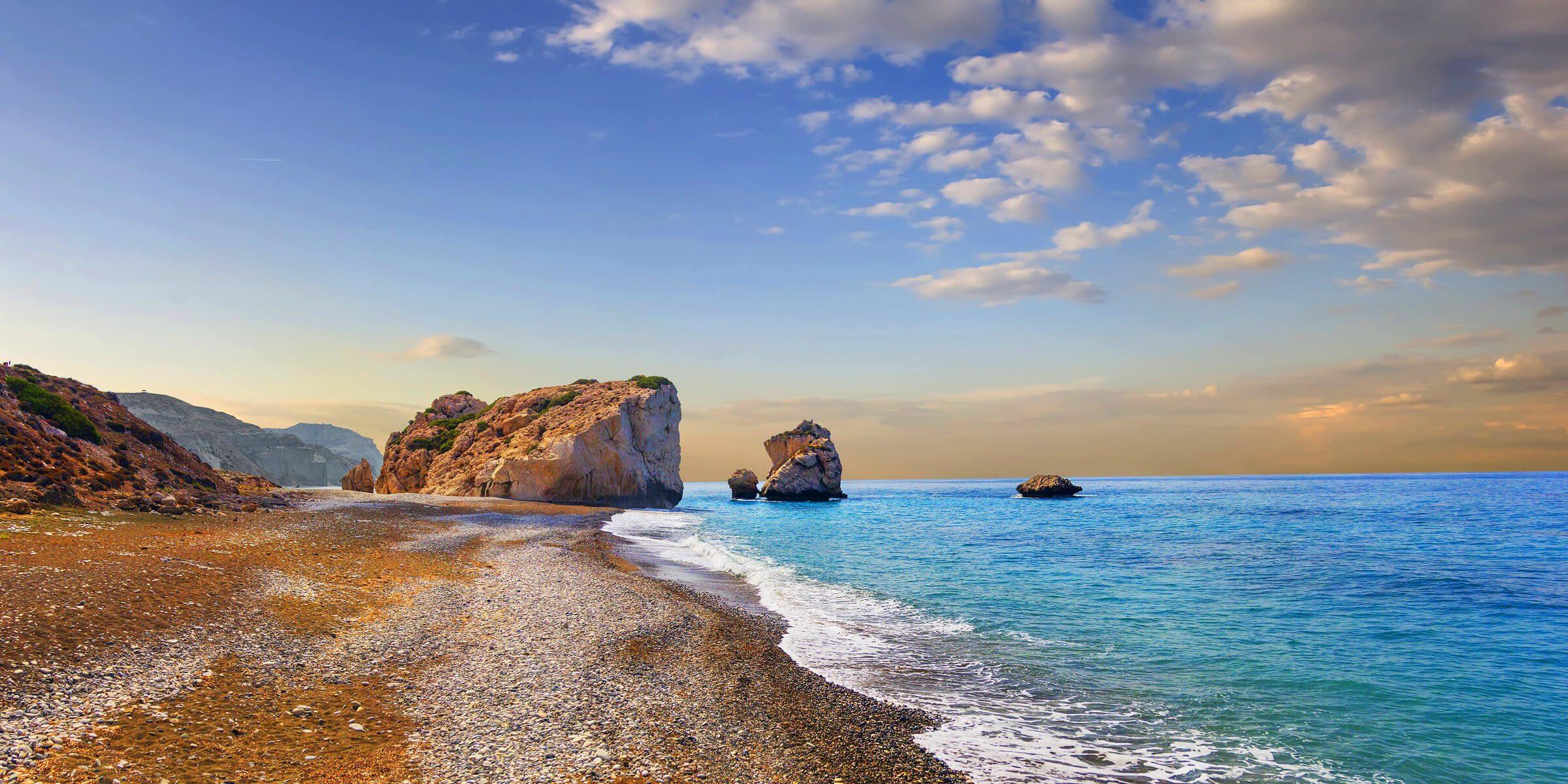Die Felsen der Aphrodite auf Zypern