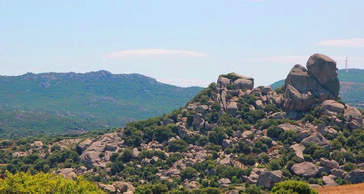 Beeindruckende Berglandschaft auf Ihrer Singlereise nach Andalusien