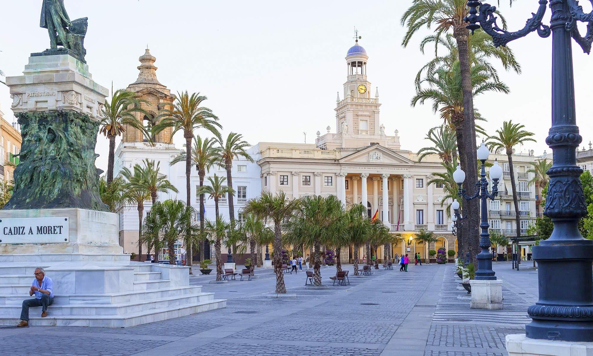 Das Rathaus in Cadiz