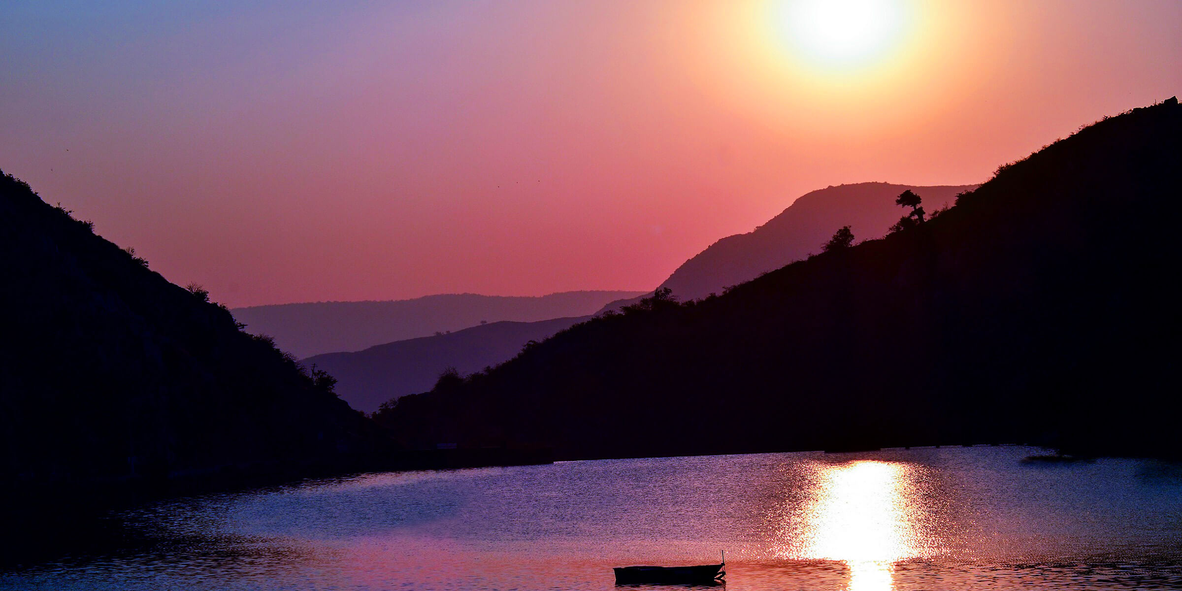 Erleben Sie gemeinsam in Indien atemberaubende Sonnenuntergänge