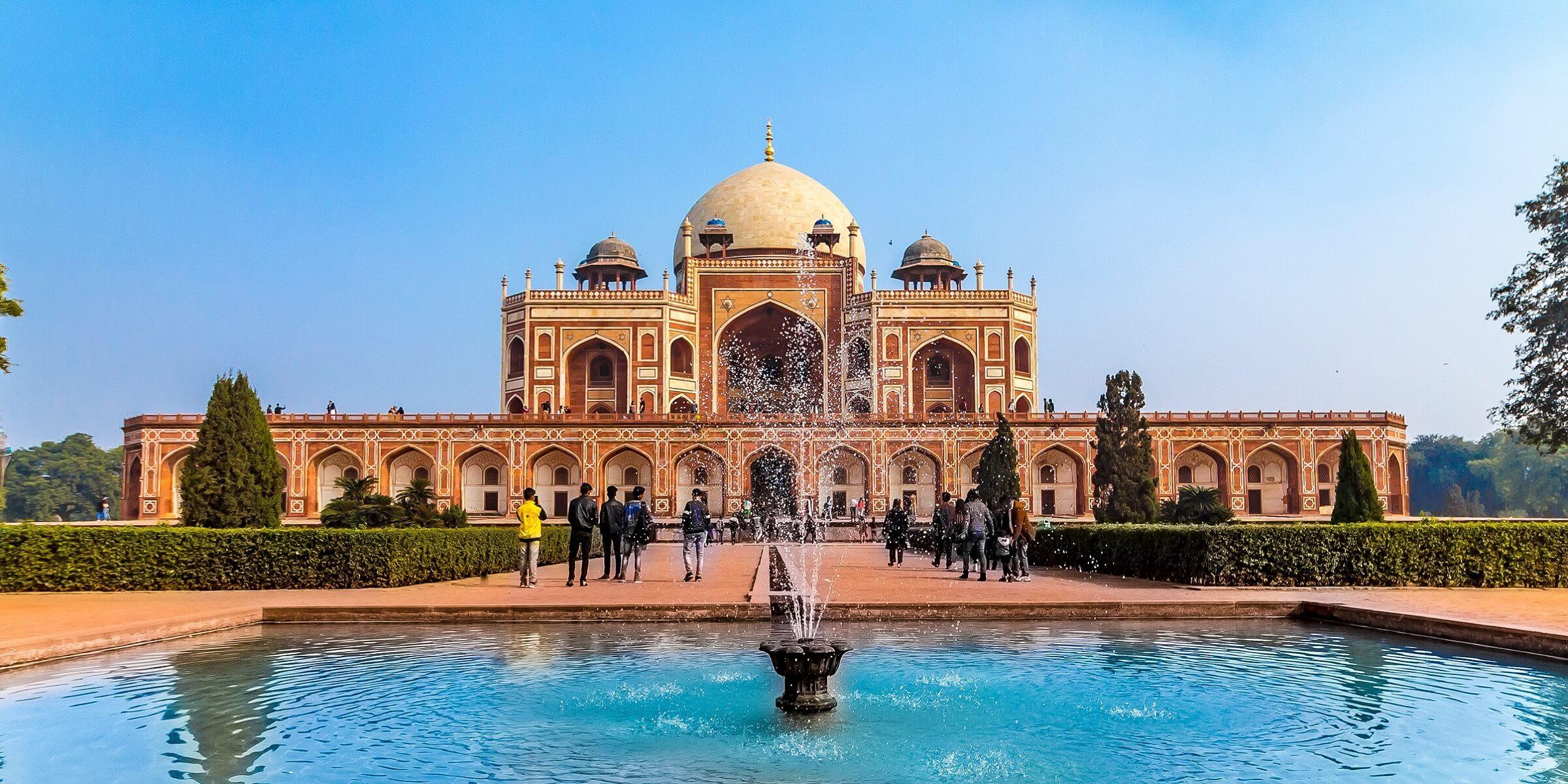 Der Taj Machal in Indien