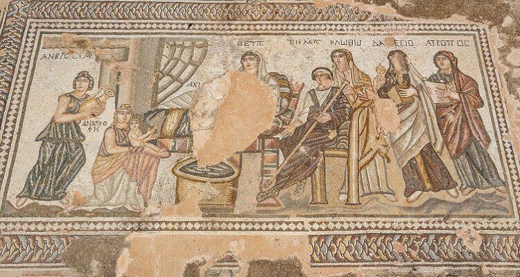 Die weltbekannten Mosaiken in Paphos auf Zypern