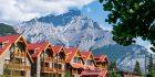 Das Moose Hotel und Suites in Kanada von Außen
