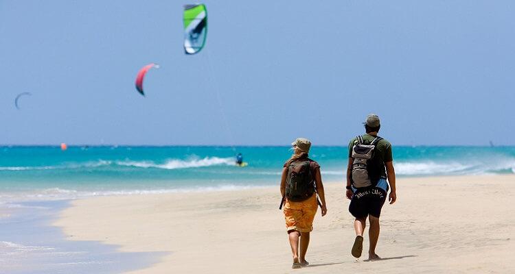 Strandwanderung auf Fuerteventura