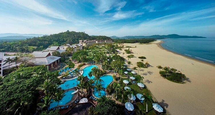 Die Außenansicht Ihres Hotels Shangri la´s Rasa Ria