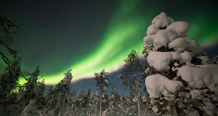 Ein einzigartiges Single-Erlebnis: die Polarlichter in Lappland