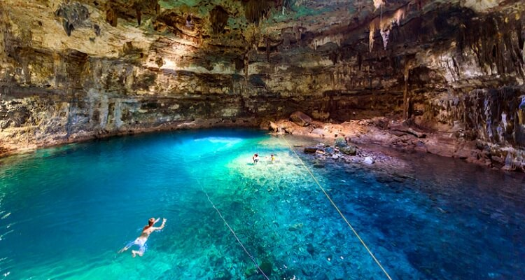 Tauchen Sie ab in die unglaubliche Unterwasserwelt von Mexiko