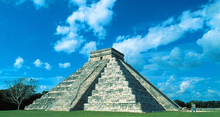 Die Gedenkstätte Coba im Dschungel von Mexiko