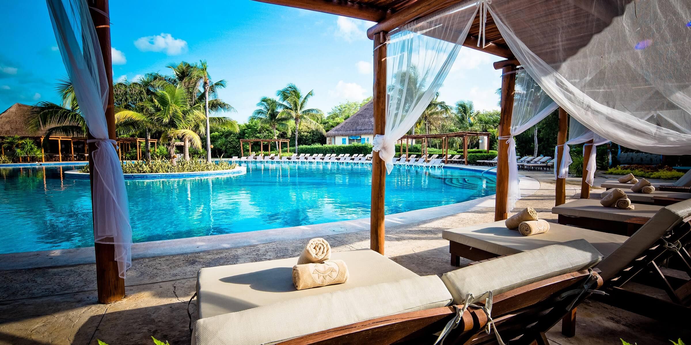Die Hotelanlage in Mexiko auf Ihrer Singlereise