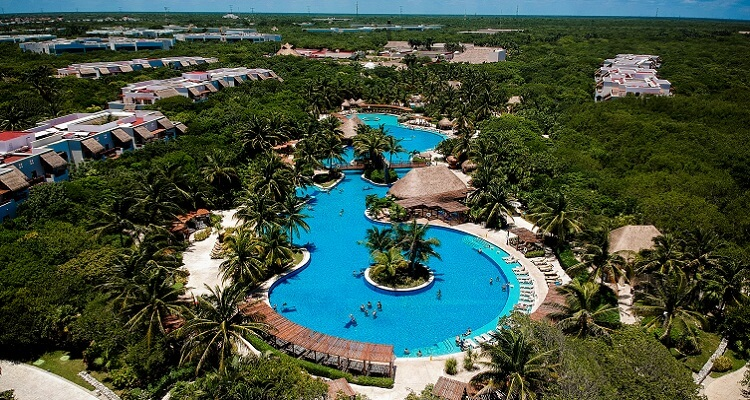 In der Hotelanlage des Valentin Hotels in Mexiko wird Ihnen garantiert nicht langweilig