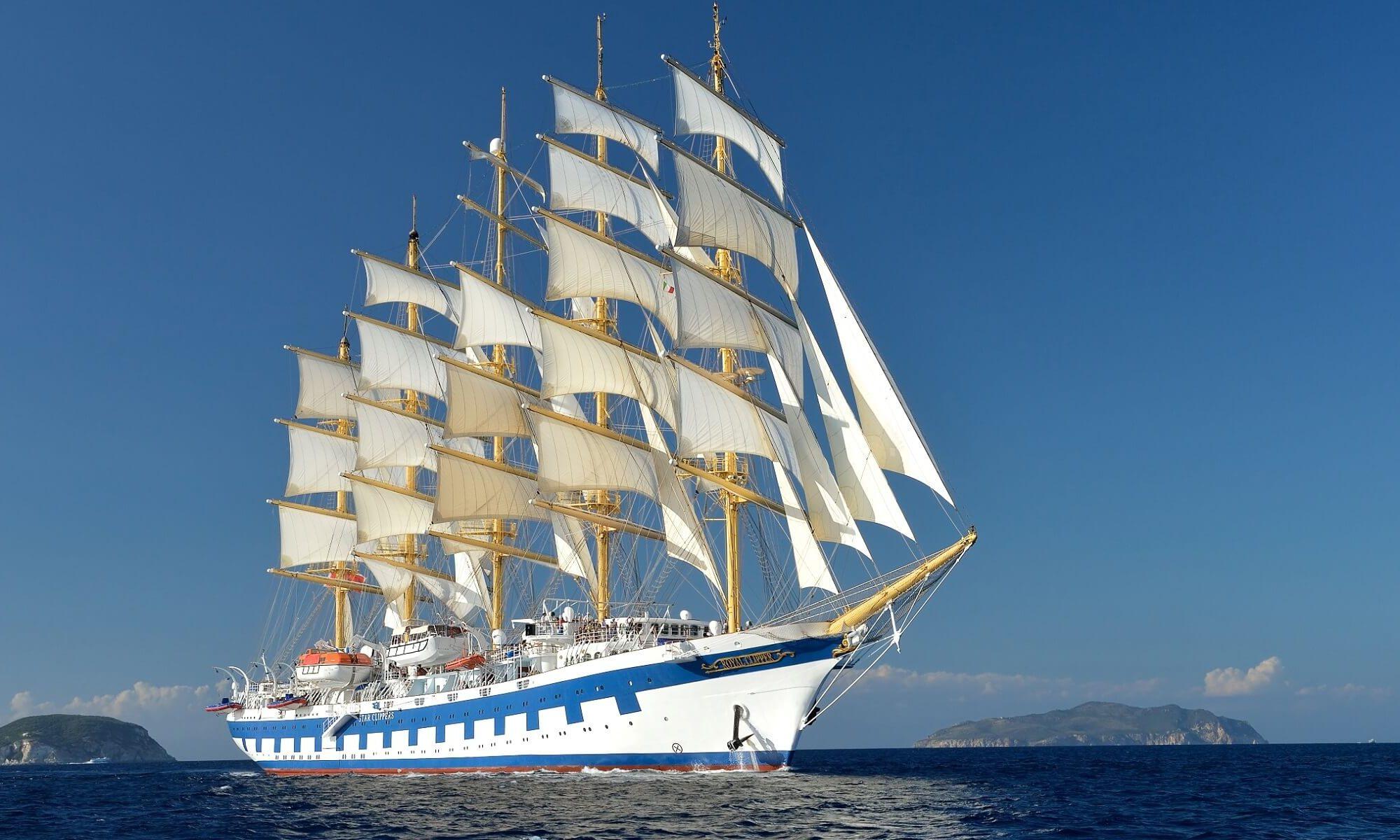 Das Kreuzfahrtschiff Star Clipper