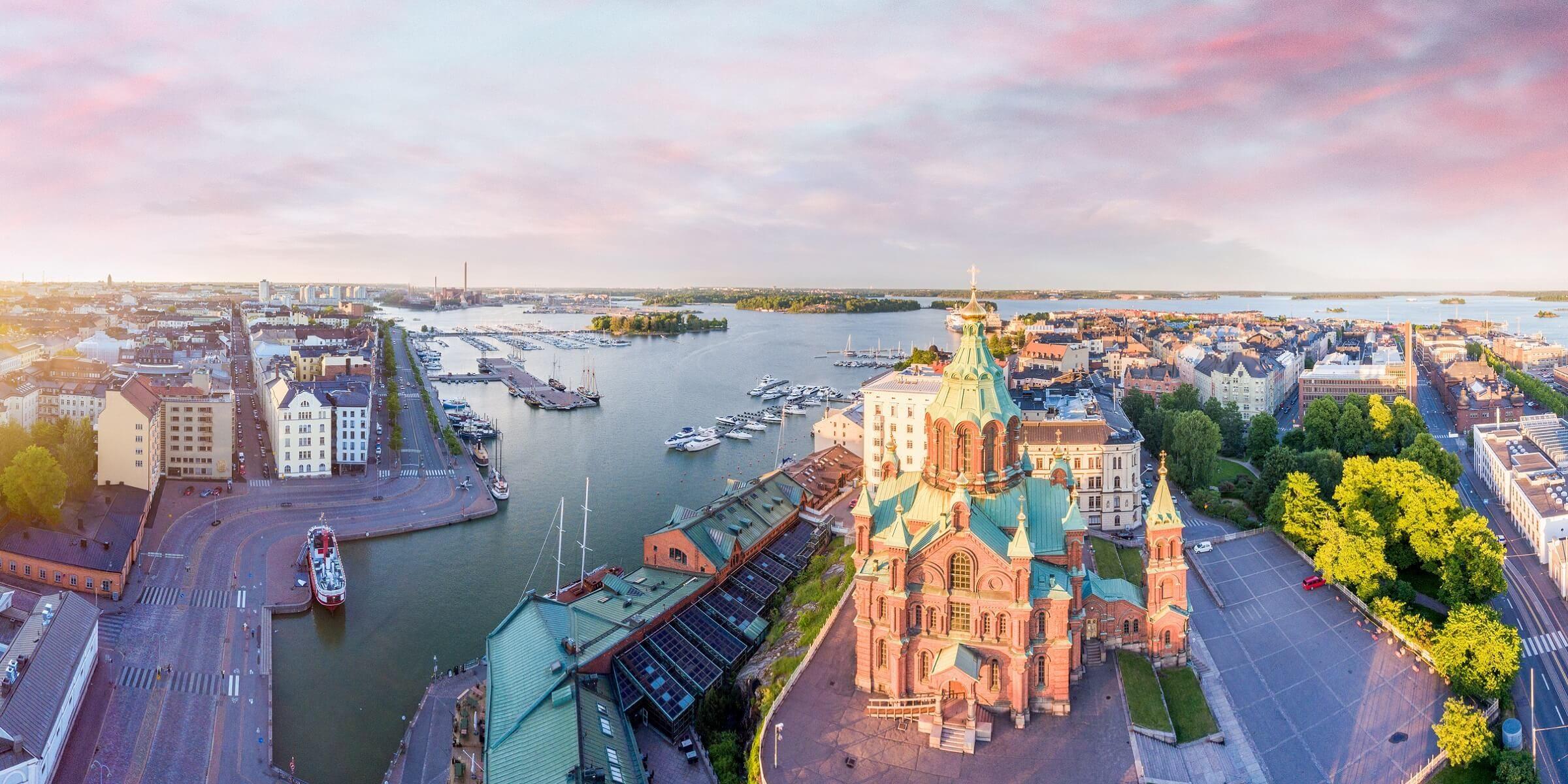 Genießen Sie einen Tag Freizeit in der finnischen Stadt Helsinki