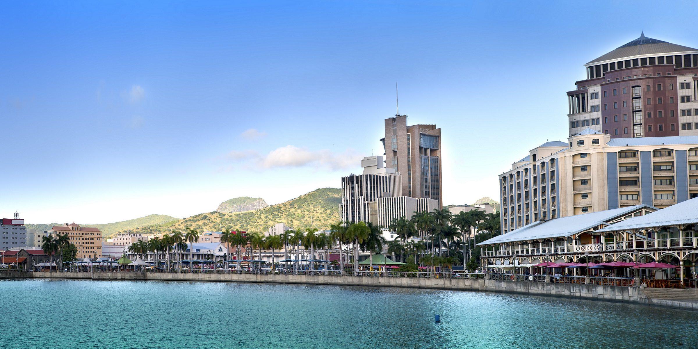 Port Louis ist die Hauptstadt von Mauritius