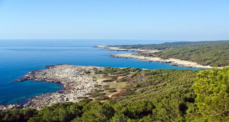Porto Selvaggio in Apulien