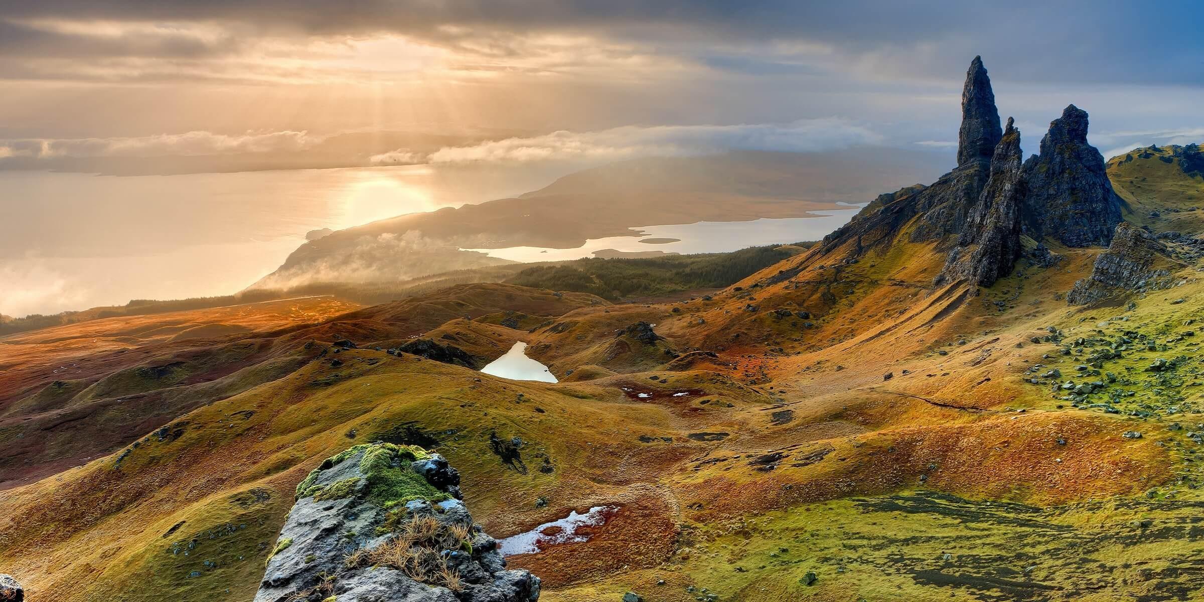 Erleben Sie auf Ihrer Singlereisen die einzigartige Landschaft von Schottland