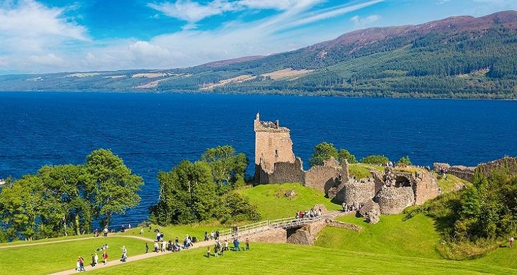 Auf den Spuren von Loch Ness in Schottland