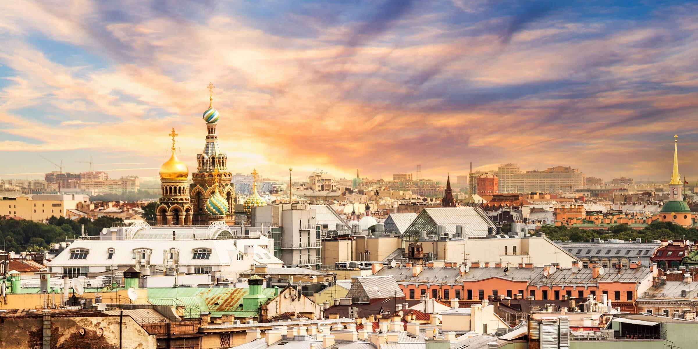 Sie gehen in St. Petersburg von Bord und erkunden die russische Stadt