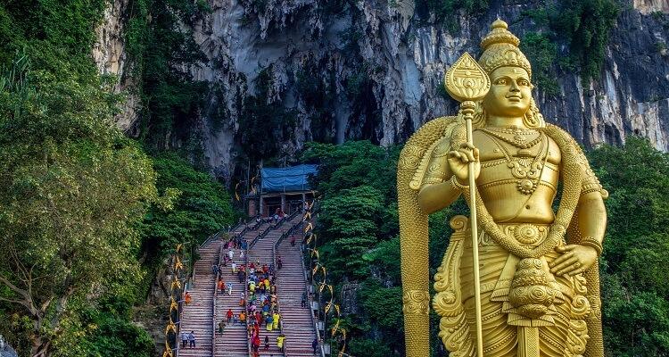 Bathu Caves und Buddha in Malaysia