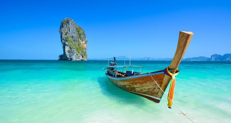 Traumhaftes Meer in Phuket