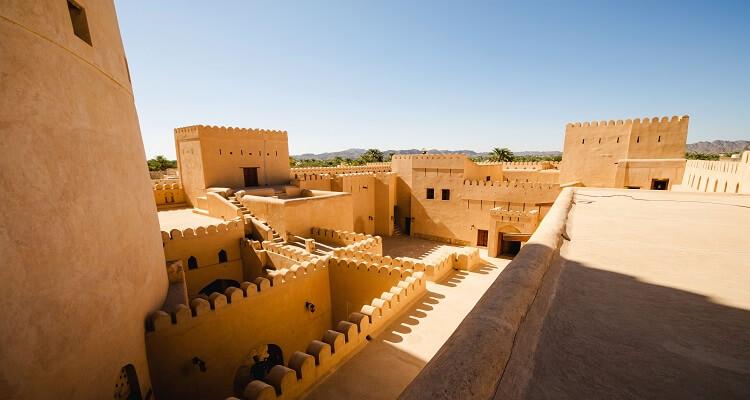 Die beeindruckende Festung von Nizwa