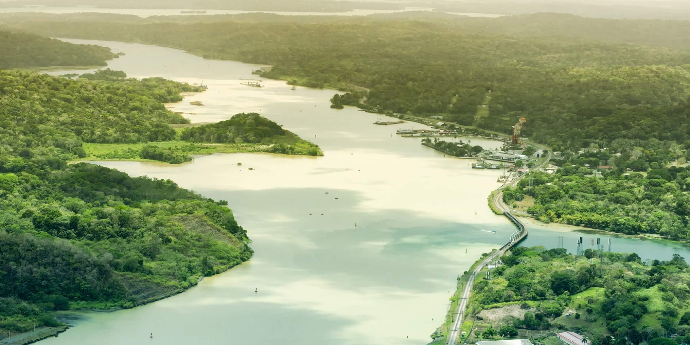 Die wunderschöne Landschaft in Panama