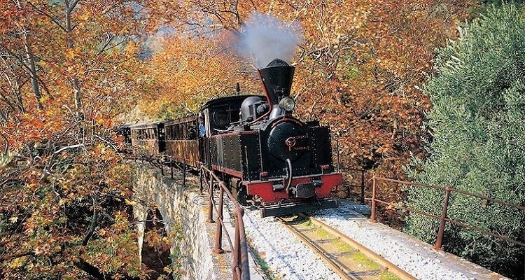 Die Schmalspurbahn auf Pilion