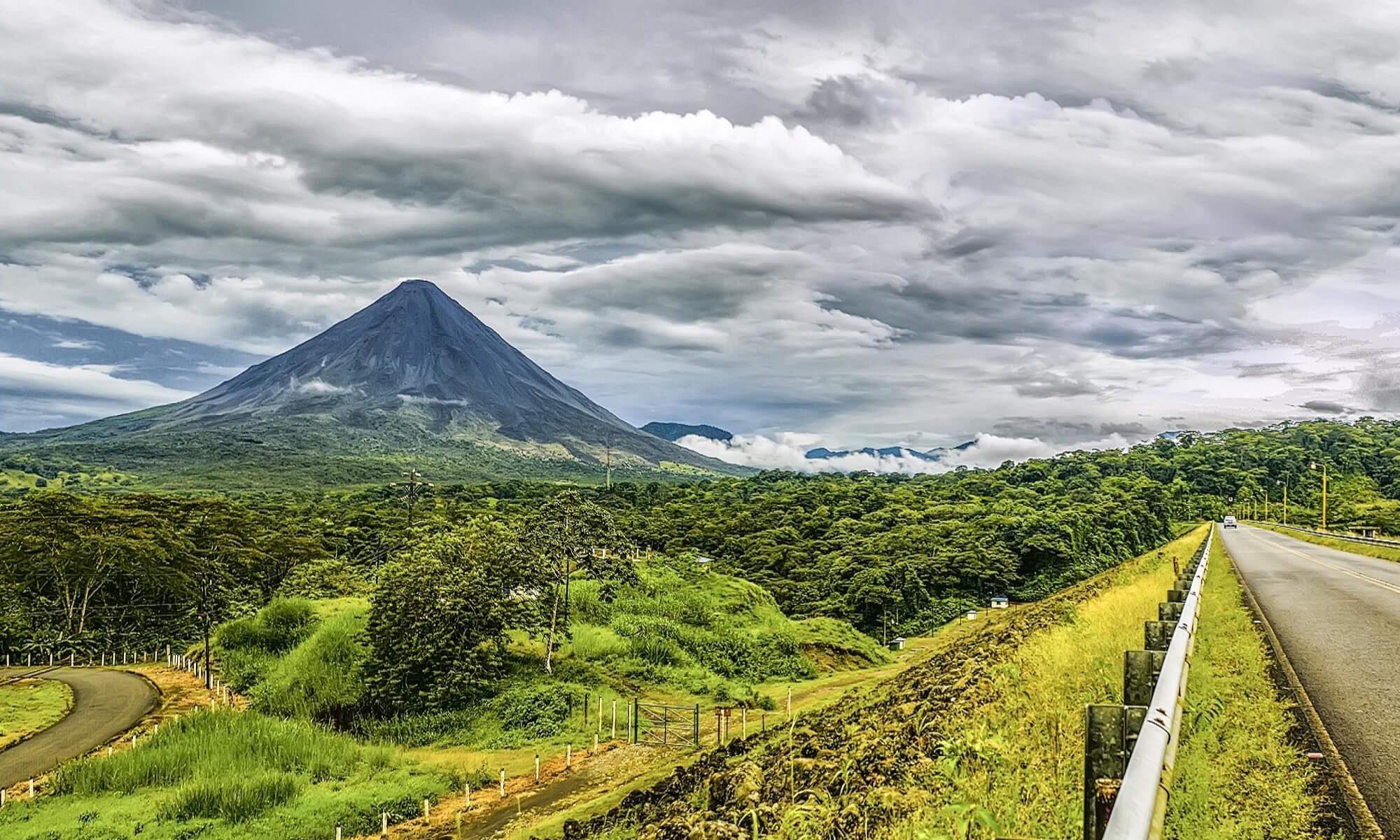 Landschaft in Costa Rica
